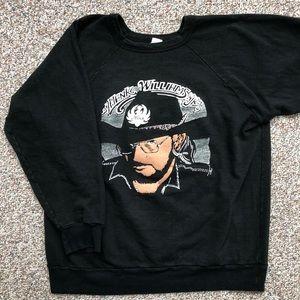 VINTAGE Hank Williams Jr crewneck sweatshirt L